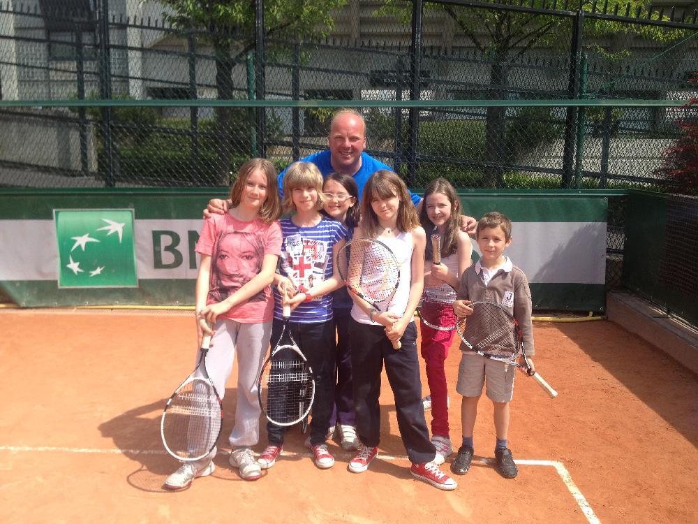 Court de tennis 10 - 13 ans