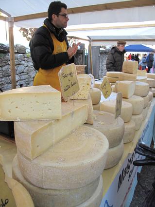 Des fromages encore d'une autre malga...