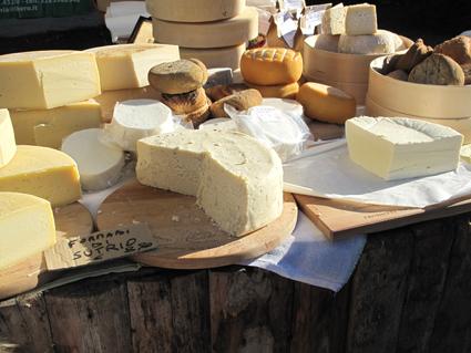 le FROMADI FRANT,fromage typique de la région et quelques autres.