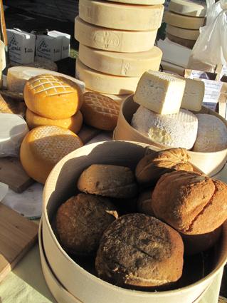Des fromages encore et encore,quelques ricotta affumicata...