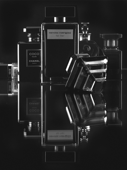 Flacons parfums homme
