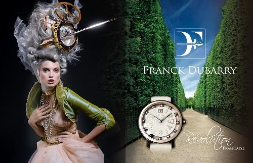 Campagne montres FRANCK DUBARRY